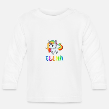 Teen Unicorn Teena - Långärmad baby T-shirt
