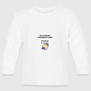 Restaurant on the moon - Baby Long Sleeve T-Shirt