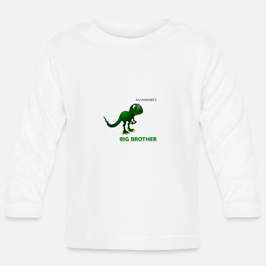 Brother Big Brother - Dino - Baby Longsleeve Shirt
