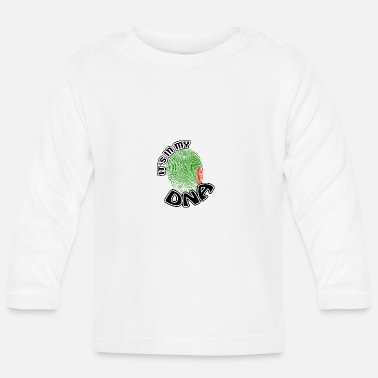 Gift Its in my dna dns roots Zambia - Baby Longsleeve Shirt