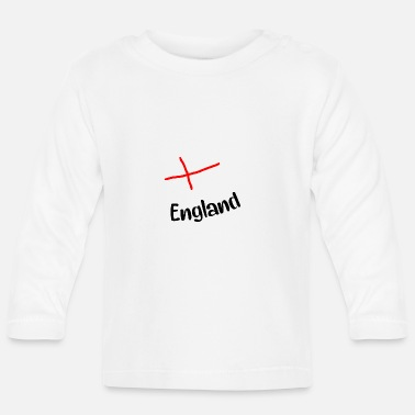Angleterre Angleterre - T-shirt manches longues Bébé