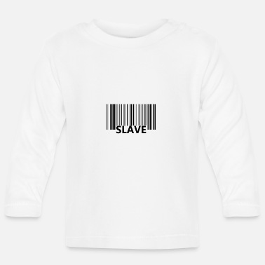 Slave-female Shopping slave materialism - Baby Longsleeve Shirt
