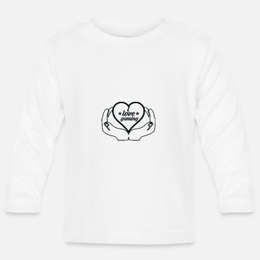 Gaming Nerd I love games gaming nerd - Baby Longsleeve Shirt