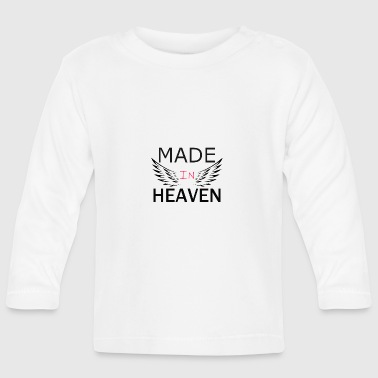 Heaven made in heaven - Baby Langarmshirt