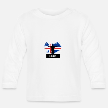Jubilation Football Island Cheers HUH World Cup Gift Idea - Baby Longsleeve Shirt