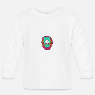 Cartoon Cartoon monster cartoon - Baby Longsleeve Shirt