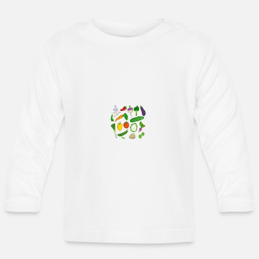 Vegetables vegetables - Baby Longsleeve Shirt