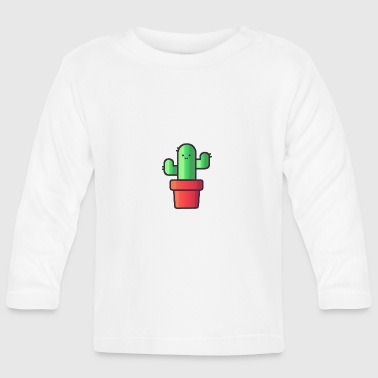 Cactus in the pot - Baby Long Sleeve T-Shirt
