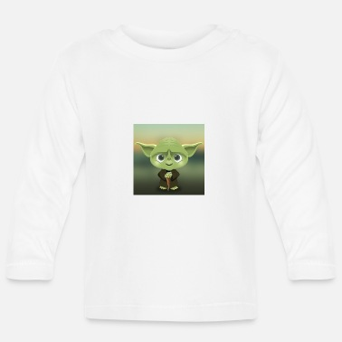 Yoda Yoda - Baby Long Sleeve T-Shirt