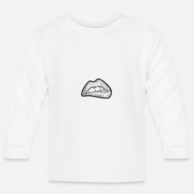 Lip Lips - Baby Longsleeve Shirt