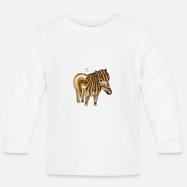 Pony Pony - life is a pony farm - Baby Longsleeve Shirt