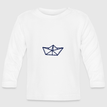 Paper Paper ship paper boat - Baby Long Sleeve T-Shirt