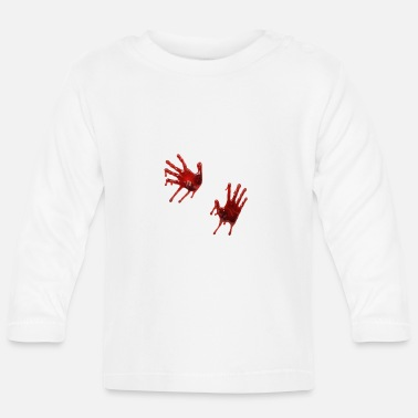 Splatter blood - Baby Long Sleeve T-Shirt