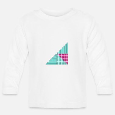 Decoration lines and squares decor decor - Baby Long Sleeve T-Shirt