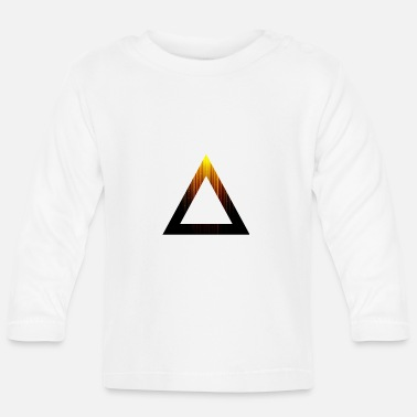 Abstract Abstract Triangle - Baby Longsleeve Shirt