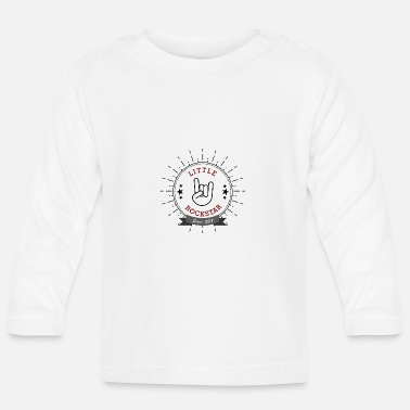 Little Rock Star french fries fork - Baby Longsleeve Shirt
