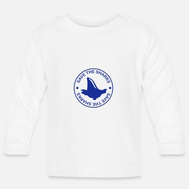 Save save_the_sharks_f1 - Baby Longsleeve Shirt