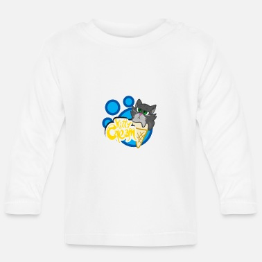 Kitty cream (collection ice cream) - T-shirt manches longues Bébé