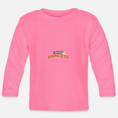 Dim Sum Princess food lover gift idea - Baby Longsleeve Shirt