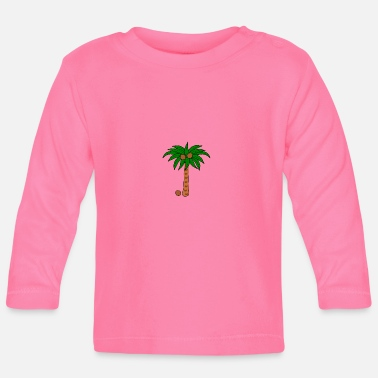 Coconut Tree Coconut tree - Baby Longsleeve Shirt