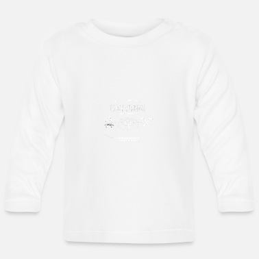New Age Urban Survival nieuwe patchwhite - Baby longsleeve
