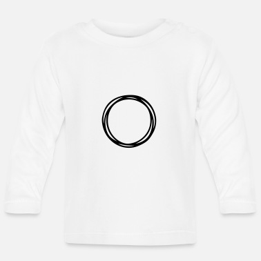 Circle Circles and circles - Baby Longsleeve Shirt