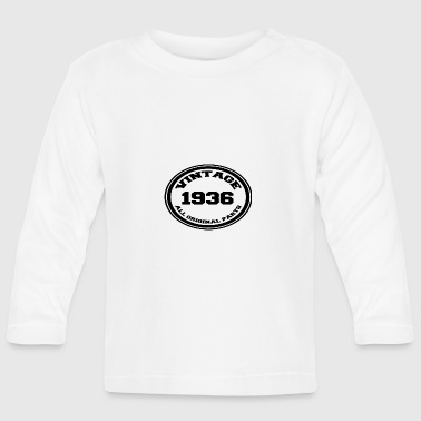 Year of birth / year 1936 - Baby Long Sleeve T-Shirt