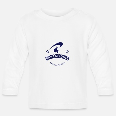 Parapendio paragliding12 - Baby Longsleeve Shirt
