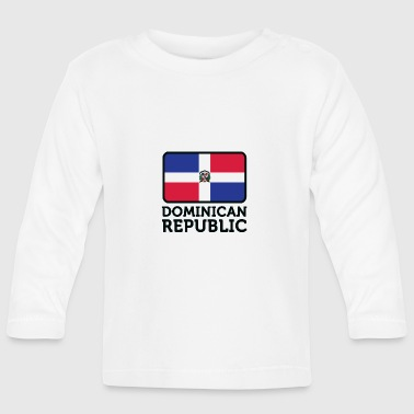 National Flag Of The Dominican Republic - Baby Long Sleeve T-Shirt