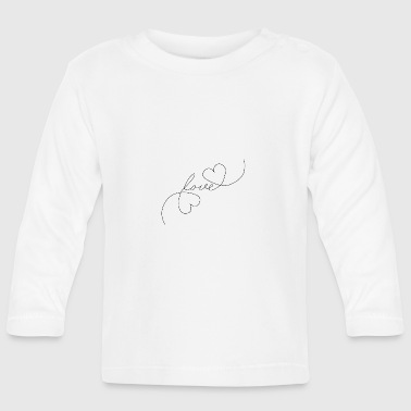 Tlc Heart Love - Oneline - Baby Long Sleeve T-Shirt