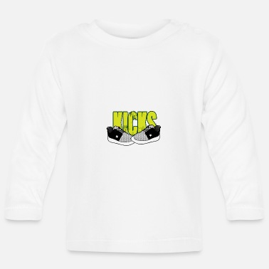 Kick kicks - Baby Long Sleeve T-Shirt