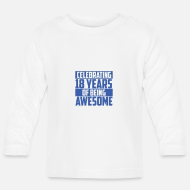 Legal Age 18th birthday 2002 gift of legal age - Baby Longsleeve Shirt