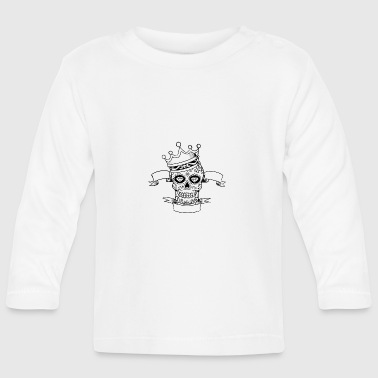 Mexican Skull Corona - Baby Long Sleeve T-Shirt