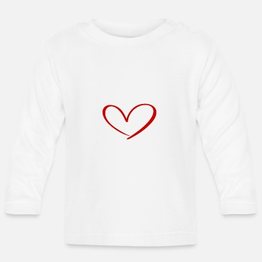Romantic Hearts Against Hate 315 - Baby Longsleeve Shirt