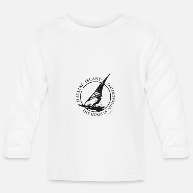 windsurfer black - Baby Long Sleeve T-Shirt
