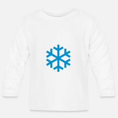 Icon Snowflake Weather Icon Icon - Langarmet baby T-skjorte