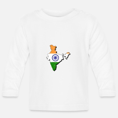 Indie India - Camiseta de manga larga bebé