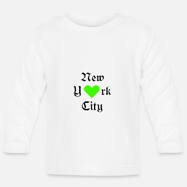 Ilove You New York City, York, New York, City, USA, Ilove you, Love - Baby Long Sleeve T-Shirt