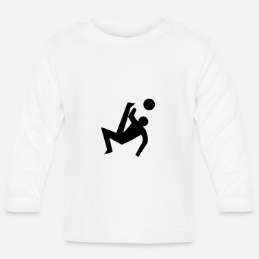Pictogram Soccer pictogram - Baby Longsleeve Shirt