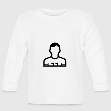 Football Player Football player, player - Baby Long Sleeve T-Shirt