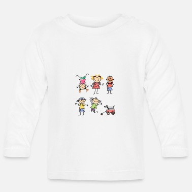 Kid Kids - Baby Longsleeve Shirt