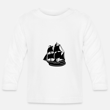 Pirate Ship pirate ship - Baby Longsleeve Shirt