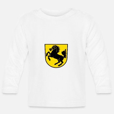 Fume Stuttgart Crest particulate City - Baby Long Sleeve T-Shirt