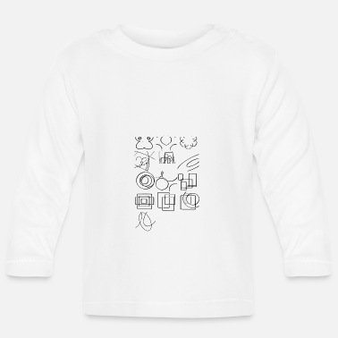 Sketch sketches - Baby Longsleeve Shirt