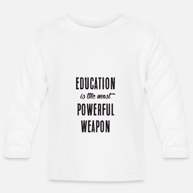 Education Culture Education - Baby Longsleeve Shirt