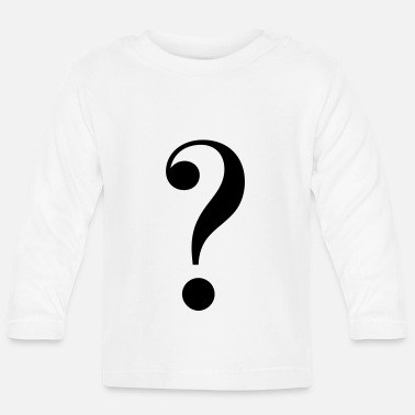 Mark Something question mark - Baby Longsleeve Shirt