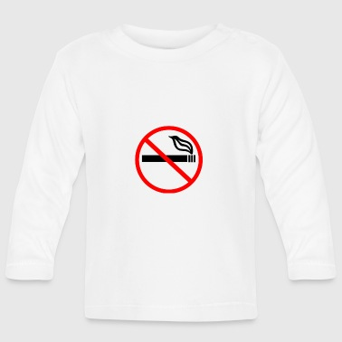 NO SMOKING - Baby Long Sleeve T-Shirt