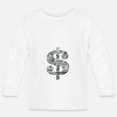 Dollar dollar - Baby Long Sleeve T-Shirt