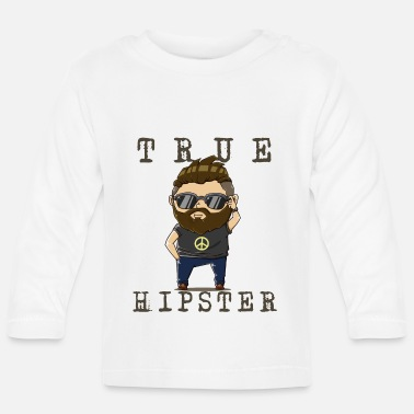 Hipster hipster - Baby longsleeve