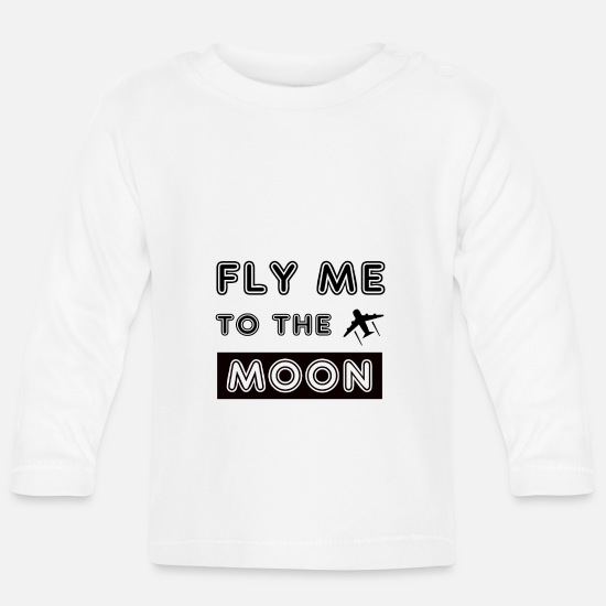 Travel Baby Clothes - pilot - Baby Longsleeve Shirt white